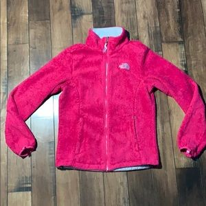 Women's North face jacket pink